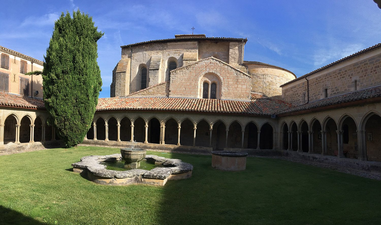 Abbaye St hilaire vignoble winetour