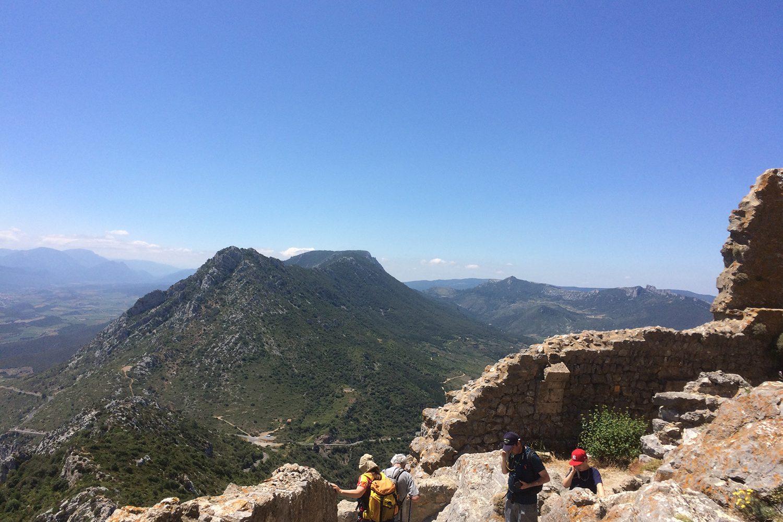Quéribus hiking