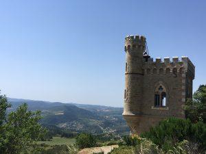 Tour magdala Rennes le château