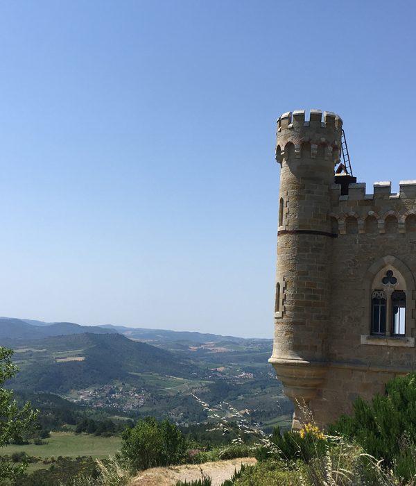 Magadala tower Rennes le château