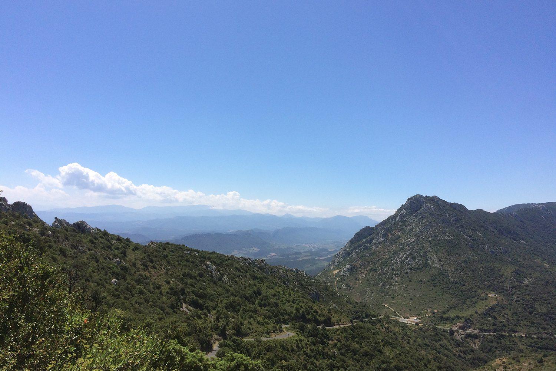 Quéribus view